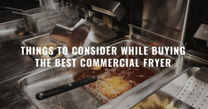 Things to Consider While Buying the Best Commercial Fryer